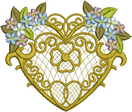 Sue Box Creations | Download Embroidery Designs | 20 - Love Heart