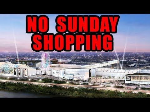 No Sunday Shopping in Spring 2019 at the American Dream Mega