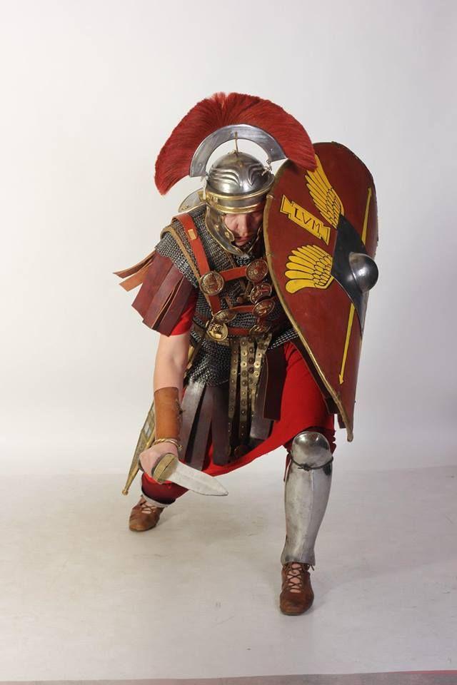 A first century AD Roman Centurion.