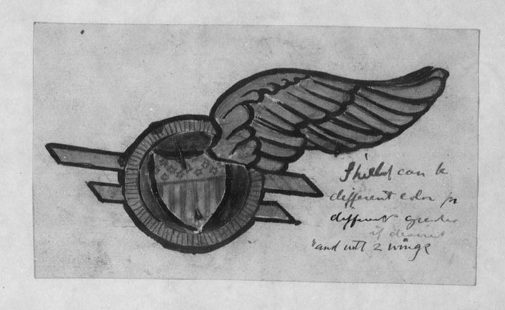 WWI US Pilot prototype insignia