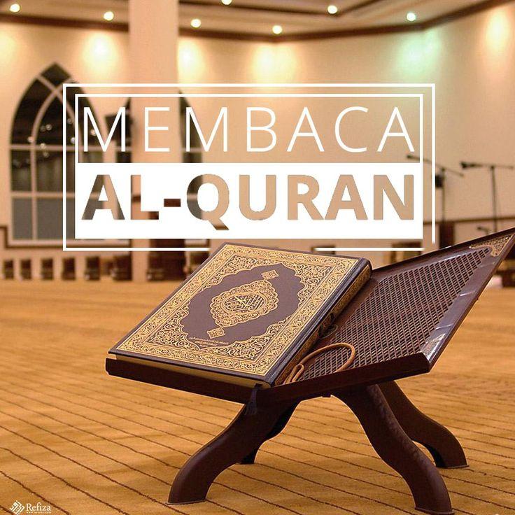 Al-Qur'an sebagai wahyu dari Allah SWT yang diturunkan kepada nabi Muhammad SAW.  More http://www.refiza.com/marilah-membaca-al-quran/