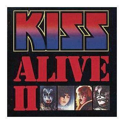 """L'album dei #Kiss intitolato """"Alive II"""" in edizione limitata su vinile, completamente rimasterizzato nel 2014. Include un codice per il download digitale."""