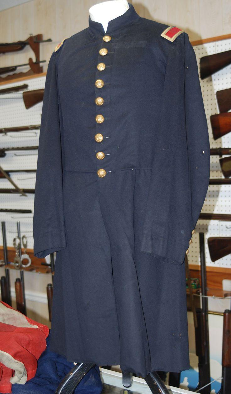 9-button frock coat circa 1862 of a Union 2nd Lieutenant ...