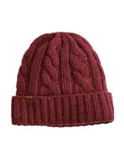 RAFEHAT Mens Cable Knit Hat
