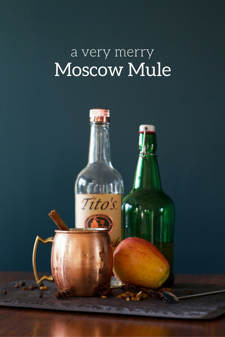 A Very Merry Moscow Mule from Brick & Vine