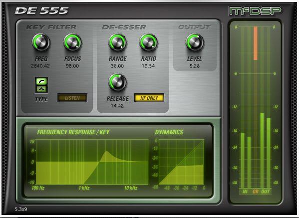 McDSP DE555 Deesser