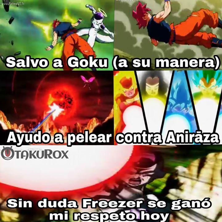 Me encantó el capítulo -  Anime---->Dragon ball super CAP 121 #Ricardo82 . anime meme en español