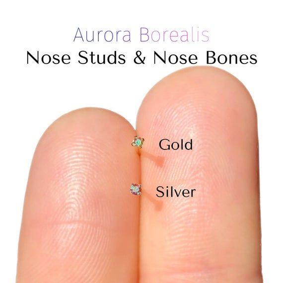 Tiny Diamond Nose Stud Diamond Nose Ring Nose Piercing Jewellery
