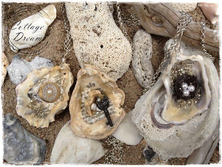 Винтажные украшения из морских раковин от Александры - Cottage-Dreams. Обсуждение на LiveInternet - Российский Сервис Онлайн-Дневников