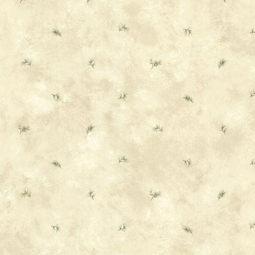 Brewster TLL01483 Pine Valley Neutral Sprig Toss Wallpaper