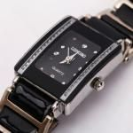 Rectangle Quartz  Wrist Watch Black at #IDealSmarter