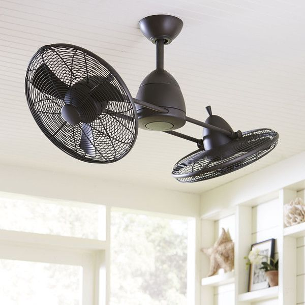 Birch Lane Fredrickson Dual Ceiling Fan, Bronze $999
