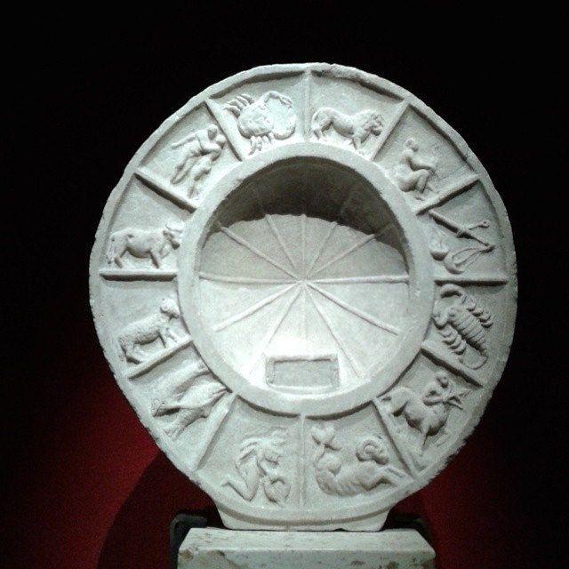 Segni zodiacali - prima età imperiale (dai magazzini del #museonazionaleromano) #roma