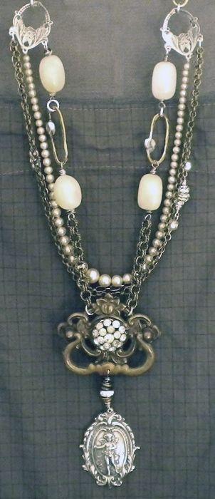 Kati Koos ~: Old Drawers, Vintage Eclectic, Drawers Pull, Dressers Handles, Katy Koo, Diana Frey, Vintage Jewelry, Beautiful Medallions, Vintage Style
