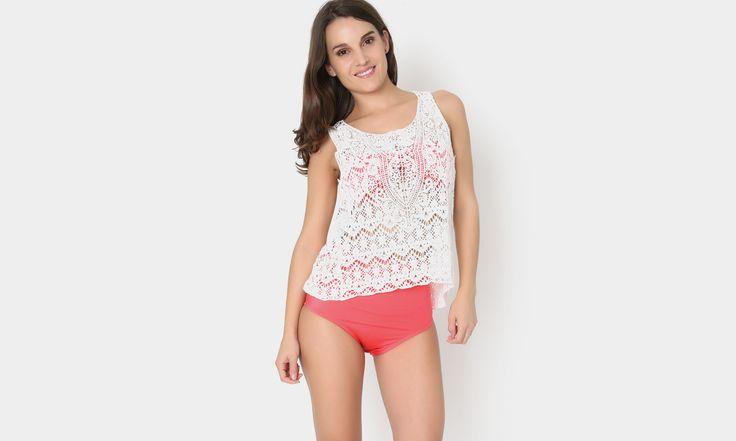 #beach #beachstyle #beachwear #summer #tejido #crochet  #white #bohostyle #colors #transparencia #playa #fashion #moda #mexicana https://www.facebook.com/peccatumbysolperea