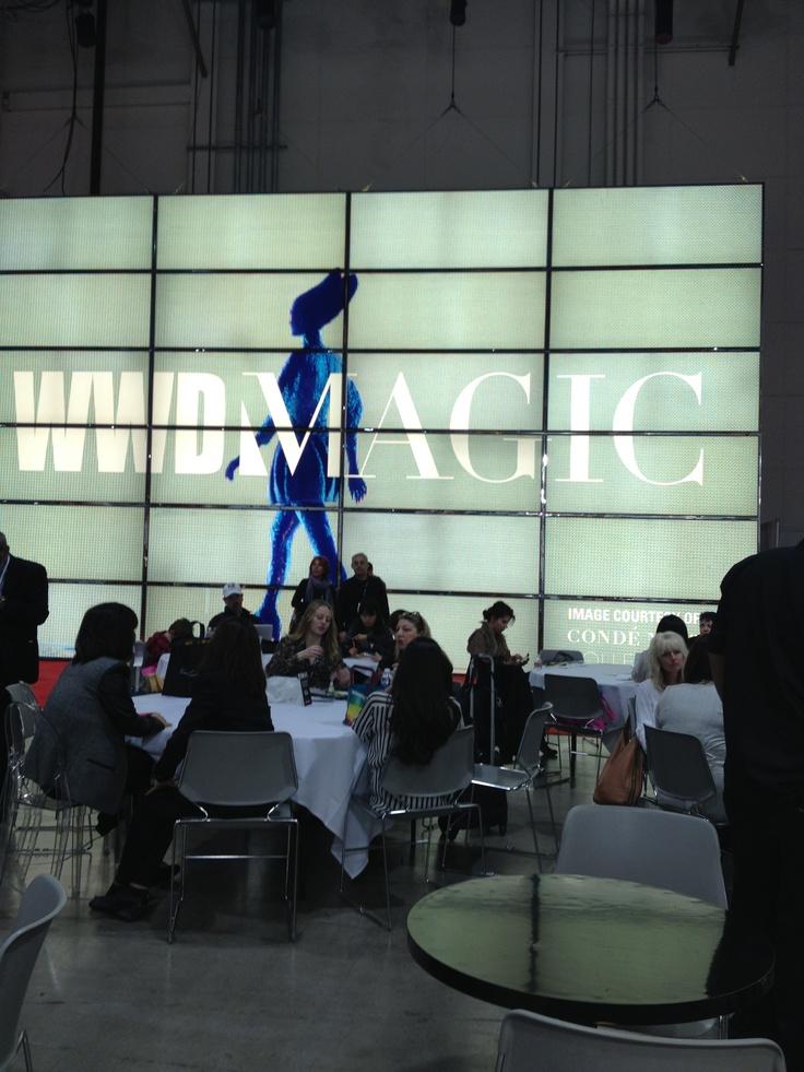 Las Vegas magic show 2013 fashion trade show!