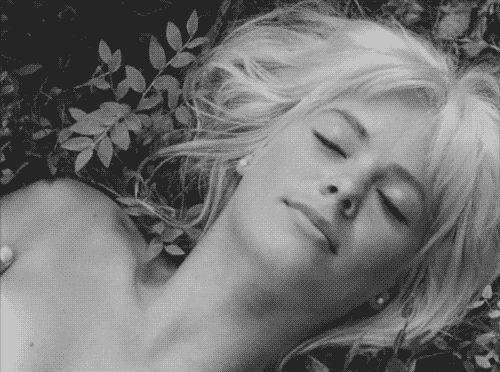 """Mikko Niskanen's movie """"Käpy selän alla"""" (Under Your Skin, Libre Amour), 1966, was a tale of the sexual revolution of the sixties. Starring Eero Melasniemi, Kristiina Halkola, Kirsti Wallasvaara & Pekka Autiovuori. (peggymoffitt)"""