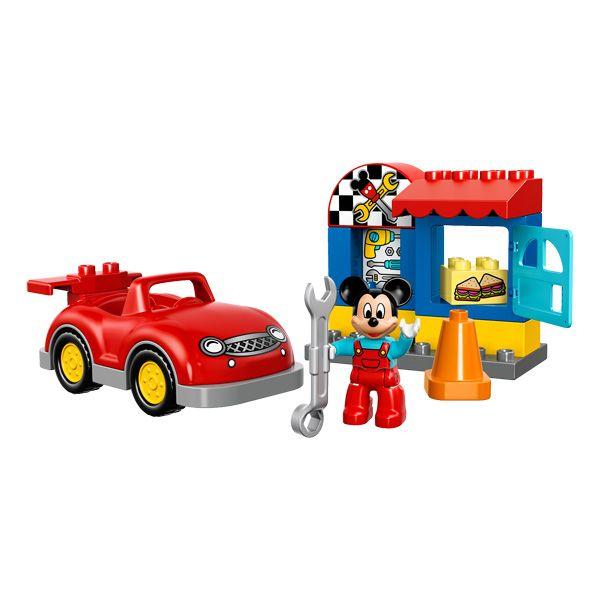 10829-L'atelier de Mickey LEGO : Les petits fans de Disney adoreront jouer à un jeu de rôle dans l'atelier de Mickey Mouse.   La grosse voiture rouge fournit des heures d'amusement et...King Jouet, retrouvez tout l'univers, Lego, planchettes & autres - Jeux de construction
