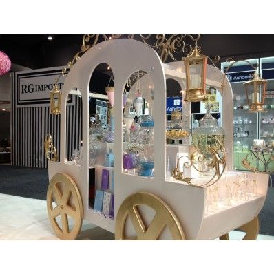Princess Candy Cart