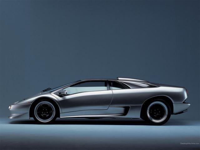 Lamborghini Diablo - quite possibly my favorite of all time.  Sigh.