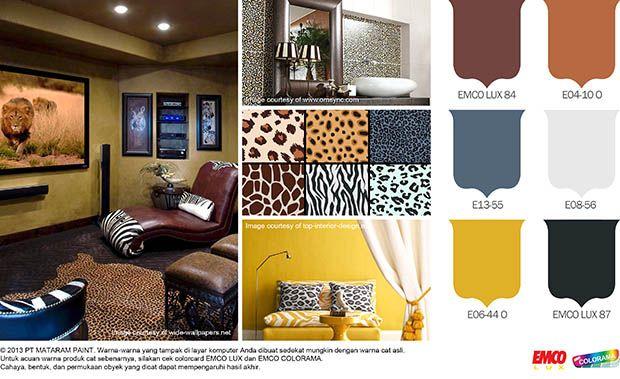 Hadirkan Motif Animal Print pada Hunian Anda! #Future #Colour http://goo.gl/ls480y