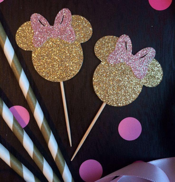 Decoração de festa infantil da Minnie