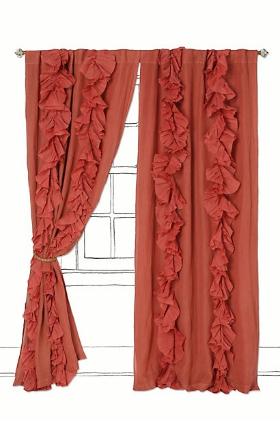DIY ruffle curtainsGuest Room, Living Room Curtains, Wanders Pleated, Girls Room, Master Bedrooms, Shower Curtains, Windows Treatments, Ruffles Curtains, Bedrooms Curtains