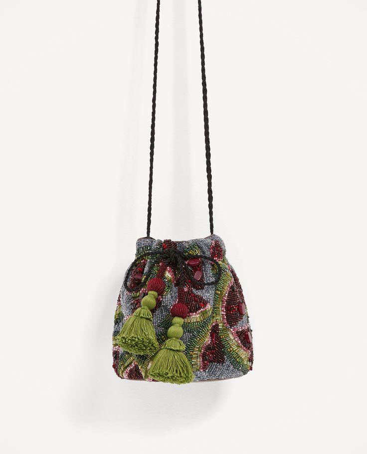画像 2 の スイカデザイン巾着型バッグ ザラから