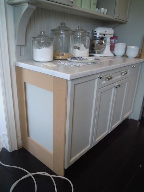 Updating Builder Grade End Cabinets - Evolution of Style