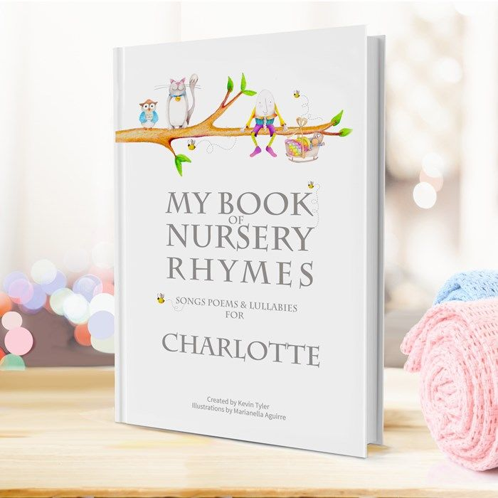 110 best books images on pinterest baby books children books treat your little one to their very own tailor made book of nursery rhymes featuring poems based on their first name for them to read and enjoy negle Gallery