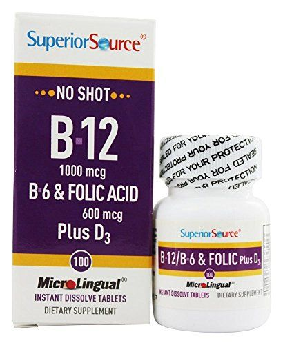 Superior Source: B-12 1,000 mcg / B-6 / Folic / Vitamin D 1,000 IU, 100 tabs -- Find out more about the great product at the image link.