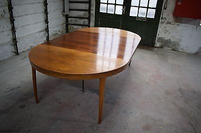 Danish mid century rosewood dining table, by Christian Linneberg