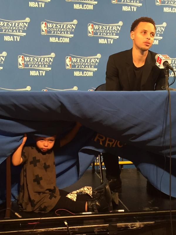We all know that kids are unpredictable. That was proven in an NBA postgame interview when Stephen Curry's two-year-old daughter, Riley, decided to videobomb the basketball star.