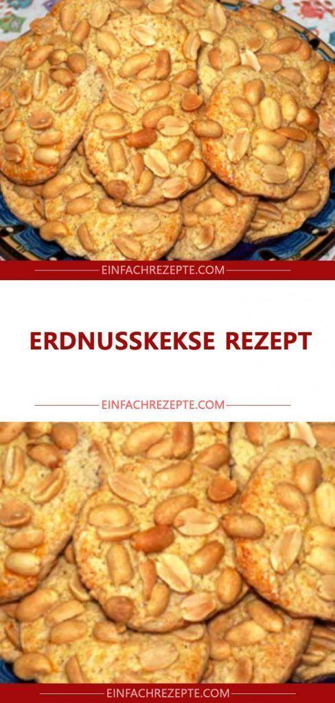 Erdnusskeks-Rezept 😍 😍 😍   – Backen