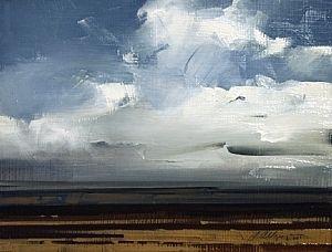 "2009, Vista by Joseph Alleman Oil ~ 6"" x 8"""