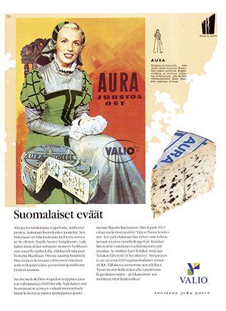 Valio - Aura-juusto 50-luvulla