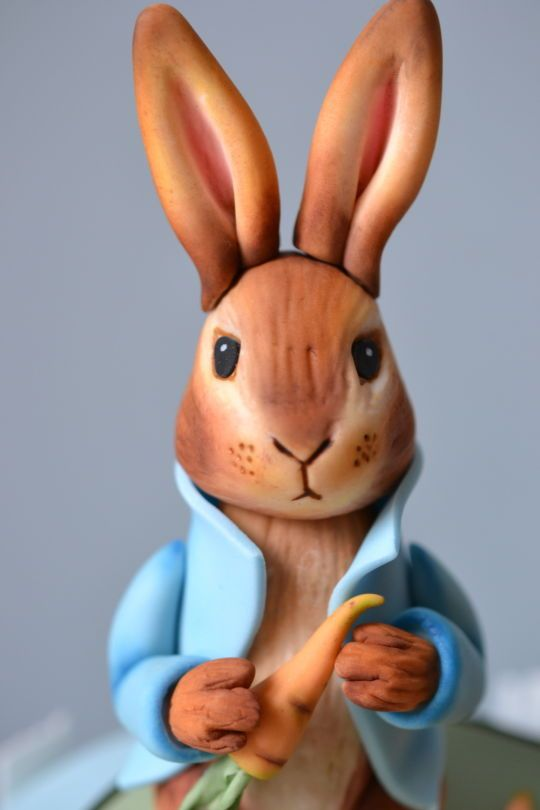 Peter Rabbit and friends 1st birthday cake