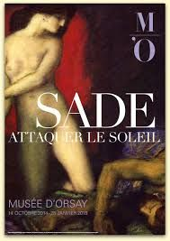 Expo Sade au Musée d'Orsay