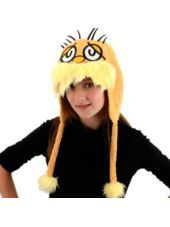 Lorax Hoodie Hat - Party CityHats Features, Hoodie Hats Parties, Seuss Hats, Hats Parties Cities, Lorax Hats