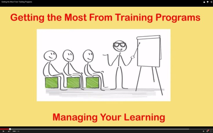 Getting the Most From Training Programs  http://www.brightonsbm.com/news/?p=5152&preview=true