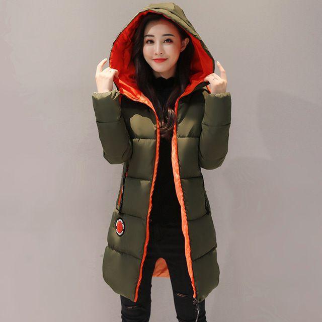 Today Sale $29.16, Buy KUYOMENS 2017 New Jacket Women Winter Coat Womens Medium-Long Cotton Padded Warm Jacket Coat High Quality Hot Sale Women Coat