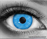 Shiva Custom SFX Contact Lenses - Let your eyes resonate with the power of a God with these beautiful, sky-blue special effects contacts. Also vibe well with goddesses, super-humans, angels, elves, or aliens entities.