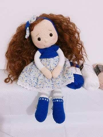 amigurumidoll Dress sewing crochet