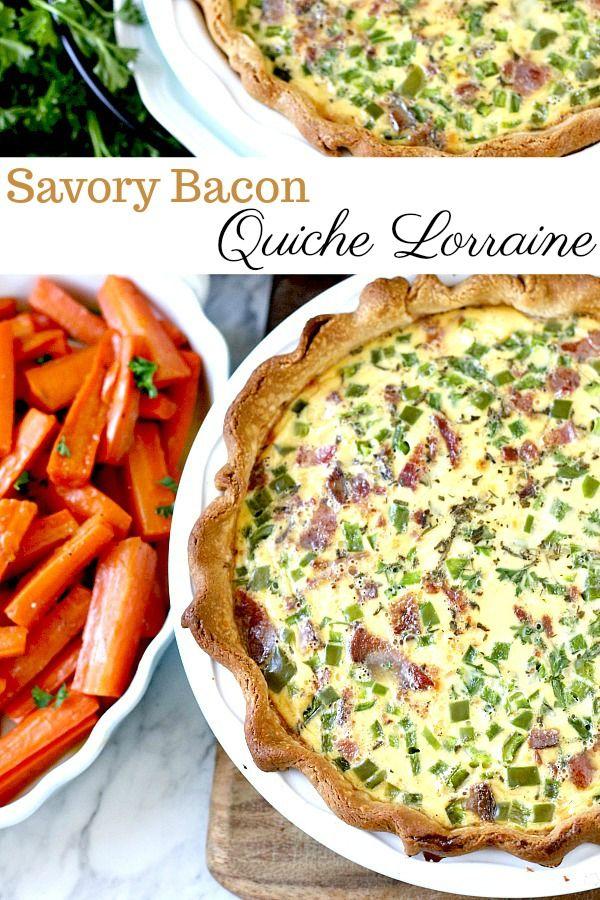 Quiche Lorraine Quiche Lorraine Quiche Recipes Quiche