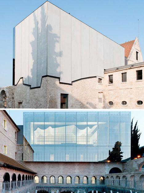 Parasitic Architecture Ecole de musique, Louviers