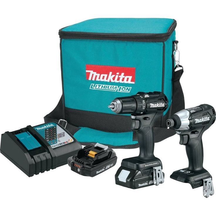 Makita CX200RB 18V LXT LithiumIon SubCompact Brushless Cordless 2pc Combo Kit #Makita
