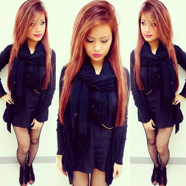 ♥ this strawberry blonde/auburn/light brown hair color
