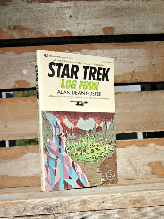 1975 Star Trek Log Four  Alan Dean Foster 3rd by JRamseyBooks $8