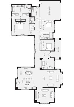 Best 25+ Narrow House Plans Ideas That You Will Like On Pinterest | Small  Open Floor House Plans, Small Home Plans And Shotgun House Part 54