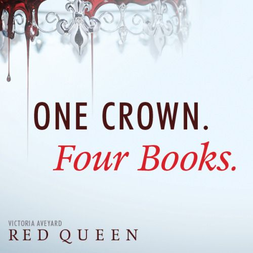 FOUR? Yes! Trilogies are never enough for me. | The Hollywood Reporter just revealed that there is going to be 4 books in the Red Queen series by Victoria Aveyard!